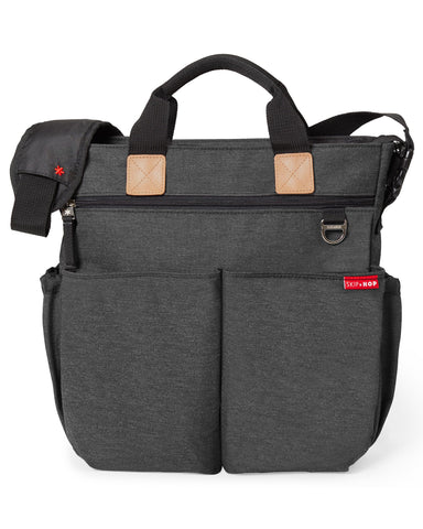 Duo Signature Diaper Bag - Soft Slate