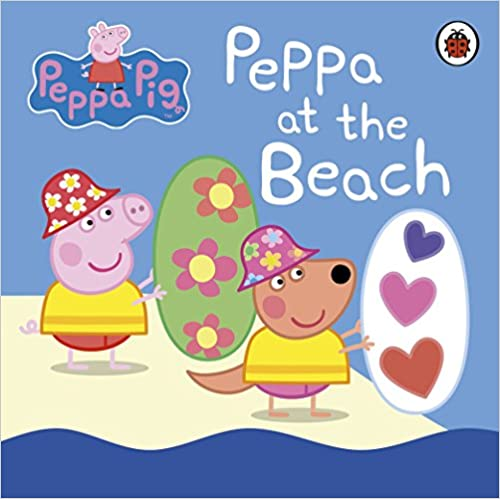 Peppa at the Beach (Board Book)