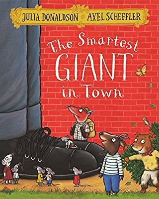 The Smartest Giant  In Town Hard Books