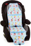 Carats Car Seat Cooling Pad - Mermaid Blue