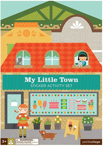 My Little Town sticker activity set