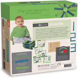 MindWare KEVA Junior - 20 Easy-Grip Plank Set for Toddlers