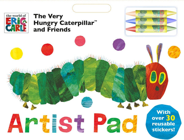The Very Hungry Caterpillar And Friends Artist Pad