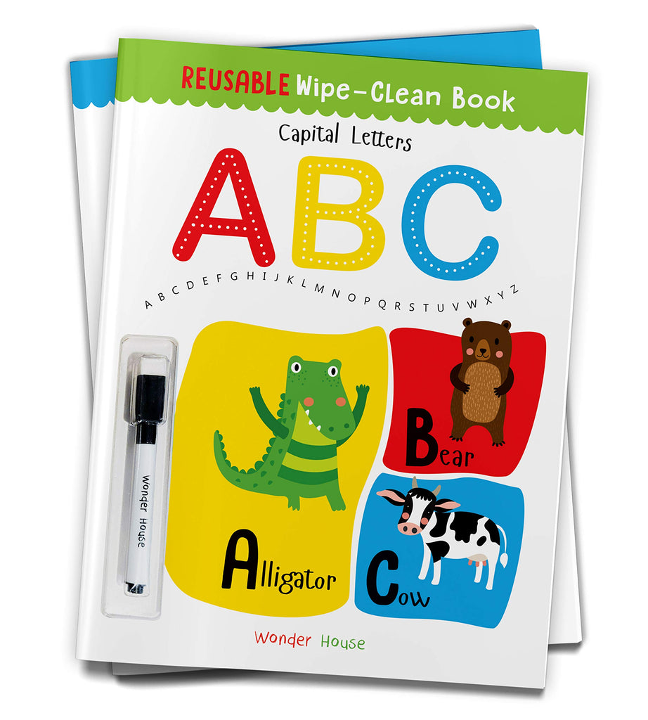 REUSABLE WIPE | CLEAN BOOK | CAPITAL ABC