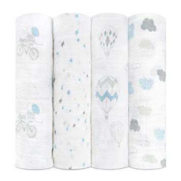 4 Pack Swaddles Classic Night Sky Reverie