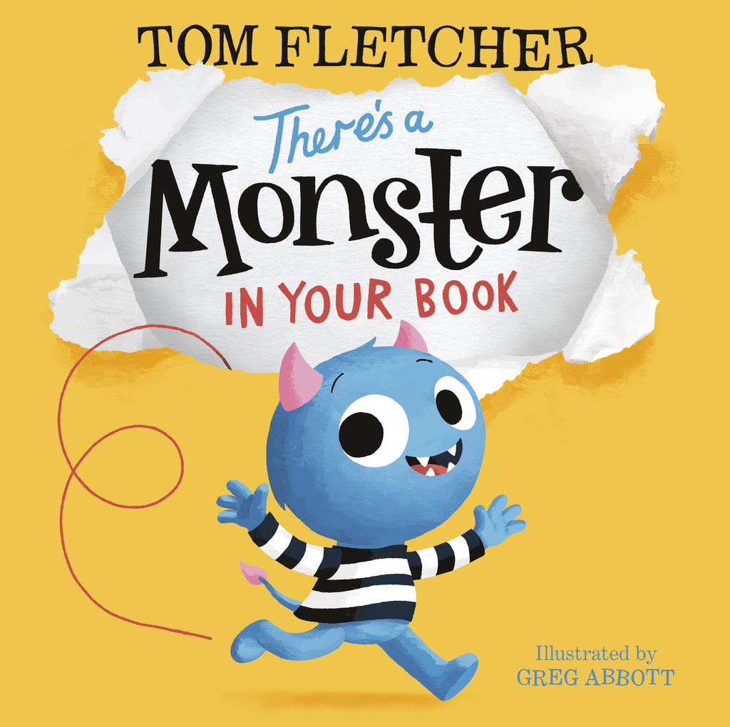 TOM FLETCHER | THERE'S A MONSTER IN YOUR BOOK
