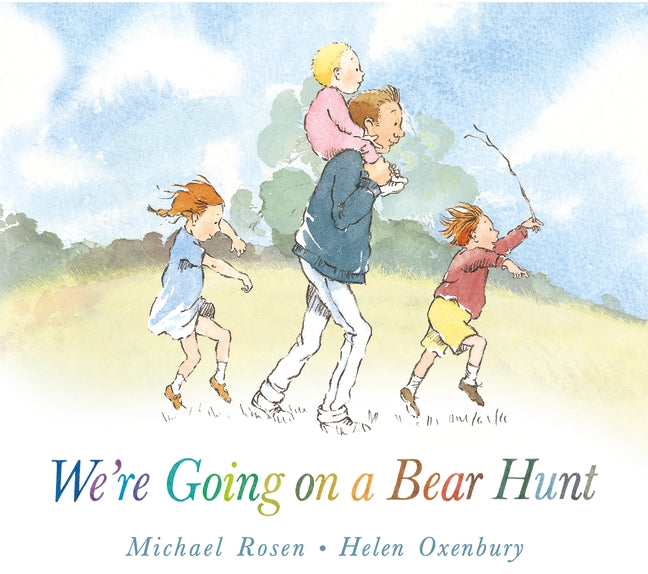 WE'RE GOING ON A BEAR HUNT | HARD BOOKS | MICHAEL ROSEN