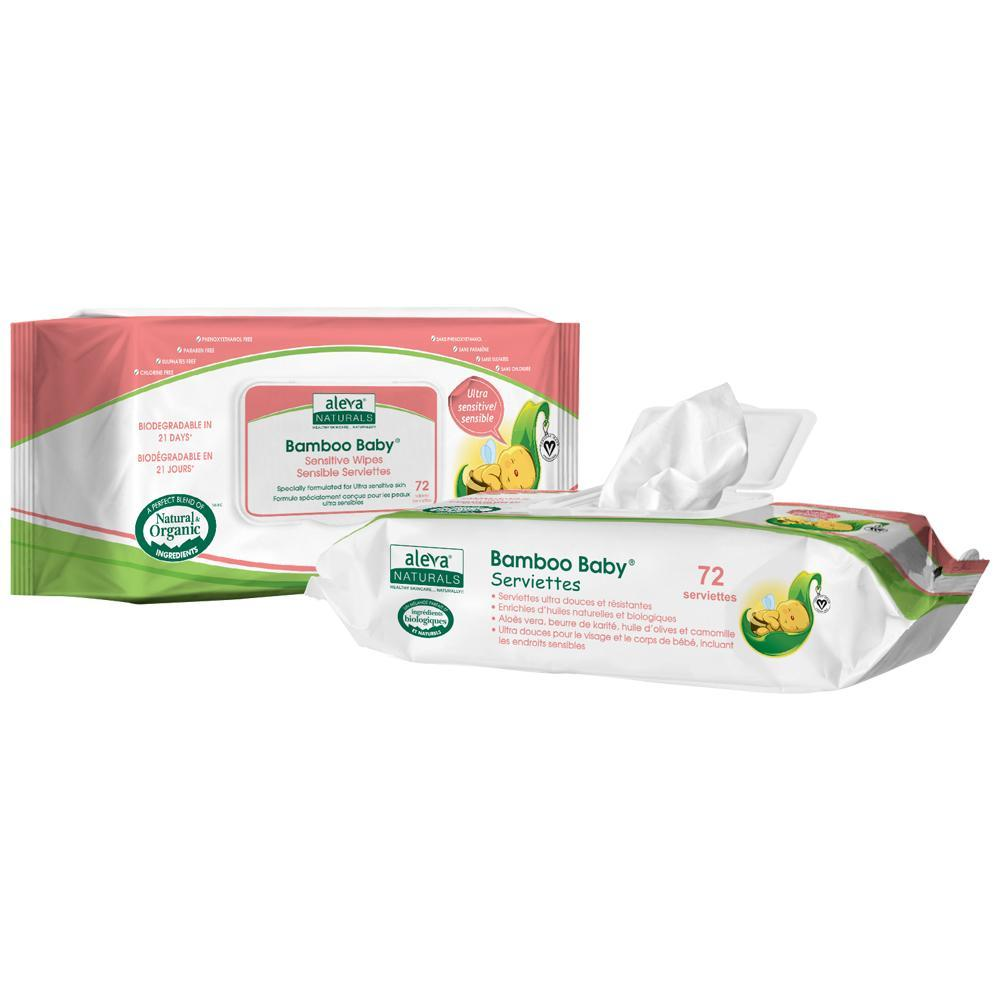 Bamboo Baby Wipes - Sensitive