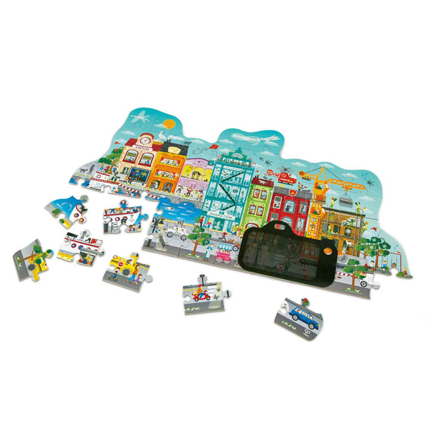 Animated City Puzzle - E1629