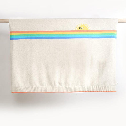 Rainbow Sunshine Baby Blanket
