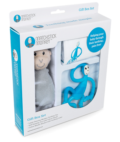 Matchstick Monkey Gift Set - Blue