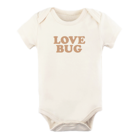 Love Bug | Bodysuit & Tee | Short Sleeve | Clay