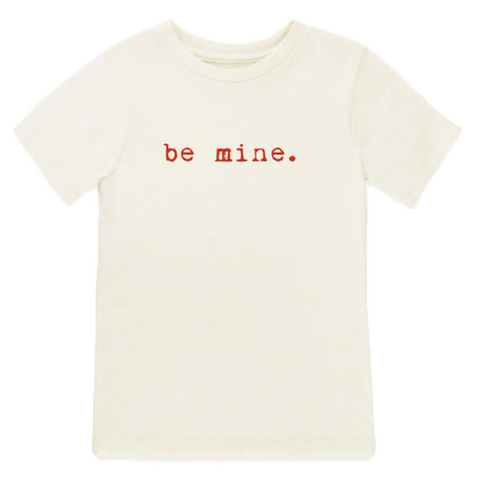 Be Mine | Organic Tee | Red