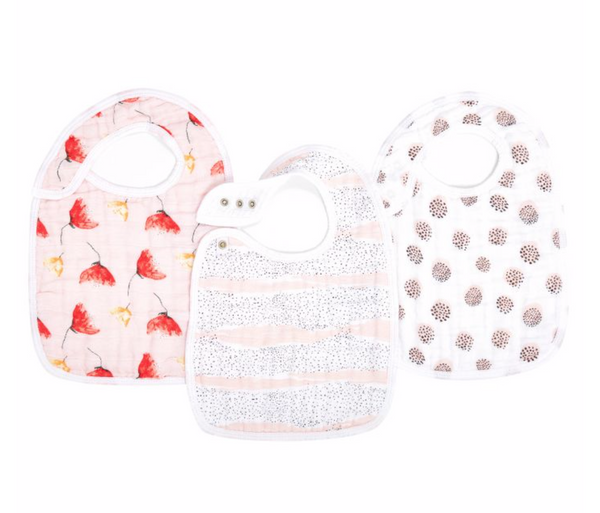 Picked for You Classic 3-Pack  Snap Bibs