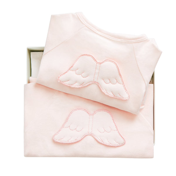 Summer Angel wing gift set - Pink