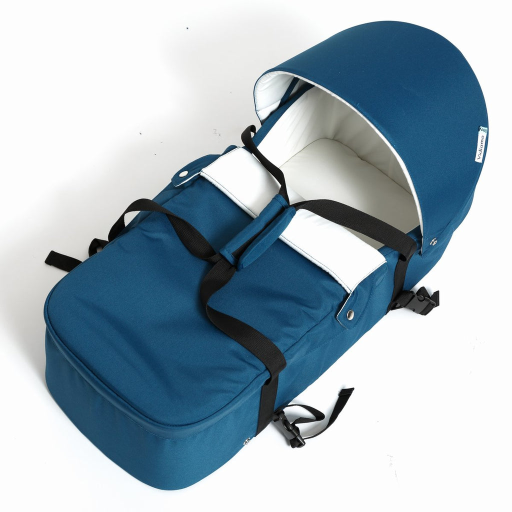LIMO CARRY COT | PETROL BLUE