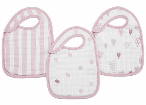 Heart Breaker Classic 3-Pack Bibs