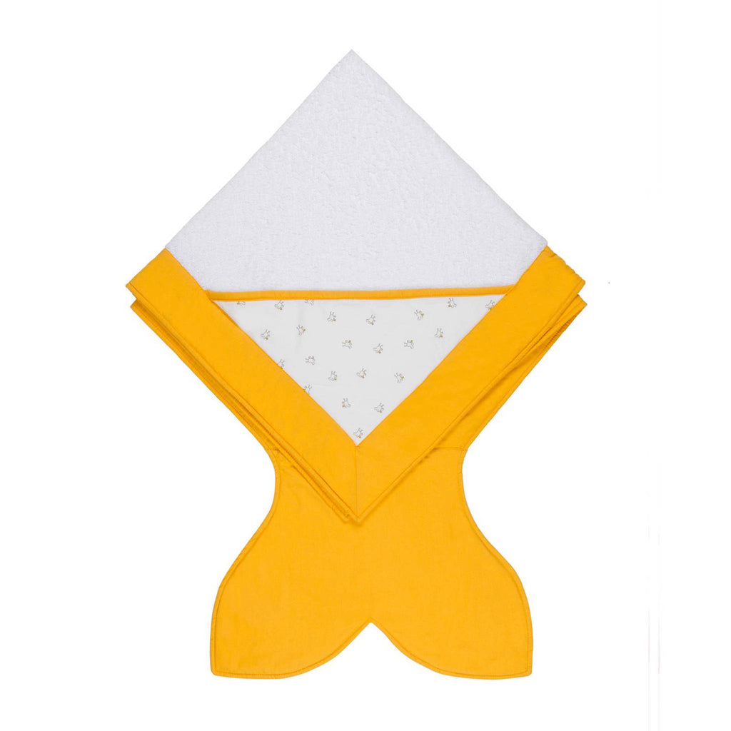 BABY BITES | Yellow Chicks Hooded Towel