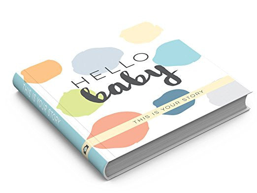 Hello Baby Memory Book - Boy