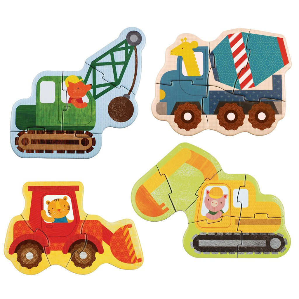 Construction Animals Toddler Puzzle