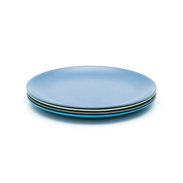 Bamboo 4 Piece Plate Set –  Costal