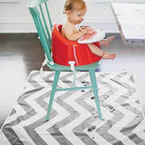 Multi-Purpose Catch All Floor Mat -  Chevron Grey