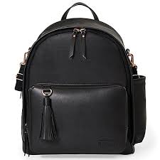 Greenwich Simply Chic Backpack | JET BLACK