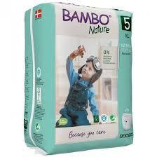 Bamboo Nature Eco-Friendly Diapers | Size- 5 | 12-18 KG Pants