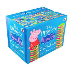 Peppa Pig 50 Books Compilation Set