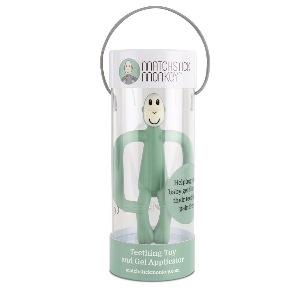 Mint Monkey Teething Toy
