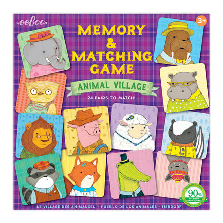 Matching Game: Animal Village