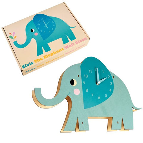 Elvis The Elephant Wall Clock