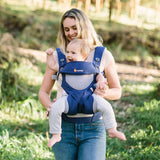 360 Baby Carrier All Carry Positions: Cool Air Mesh - French Blue