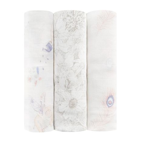 3 Pack Swaddles - Featherlight