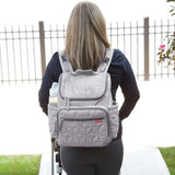 Forma Diaper Bag - Grey