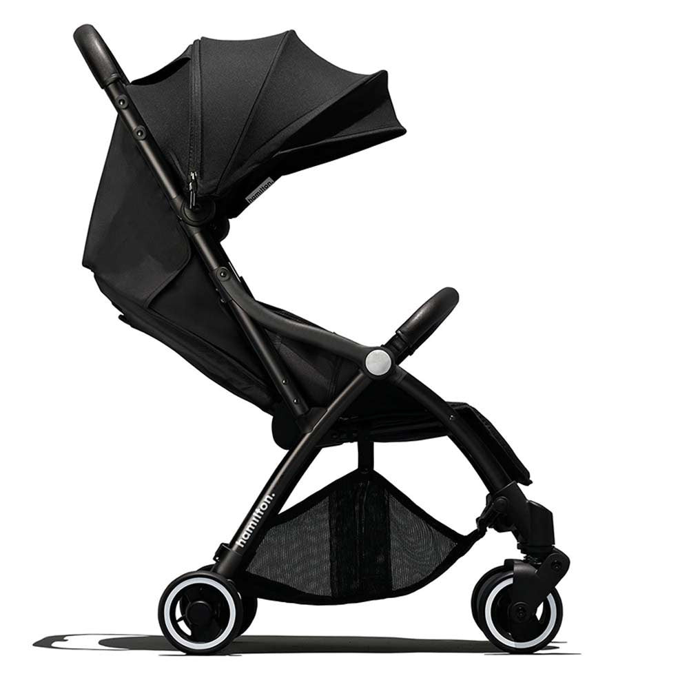 Hamilton - One Prime X1 MagicFold Stroller - Rough Black/Grey