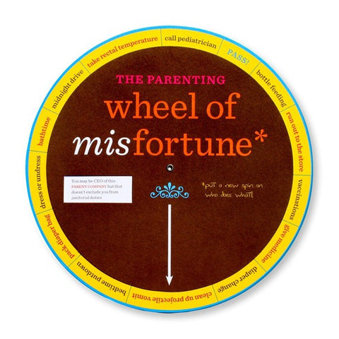 The Parenting Wheel Of Misfortune