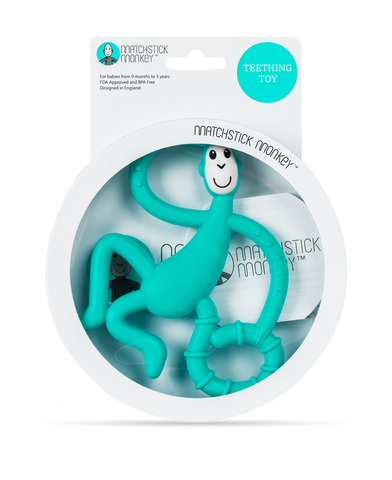 Dancing Monkey Teether - Green