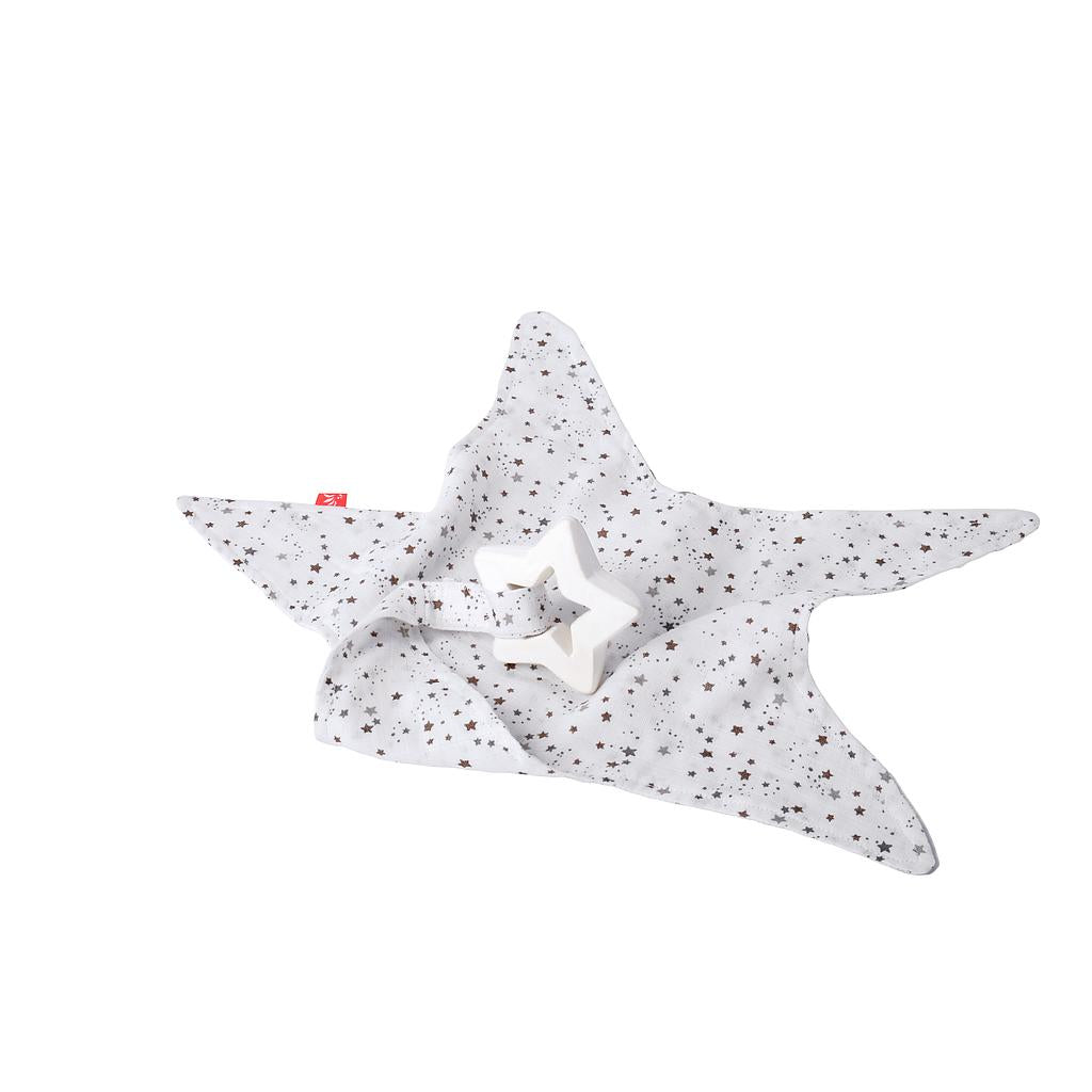 RUBBER STAR WITH TOWEL | STARS COPPER