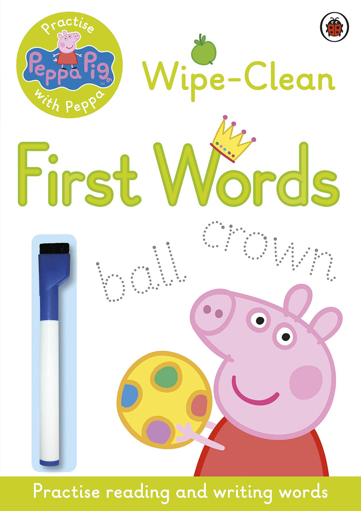 Wipe and clean - First Words