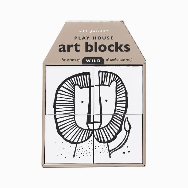 Playhouse Art Blocks - Wild