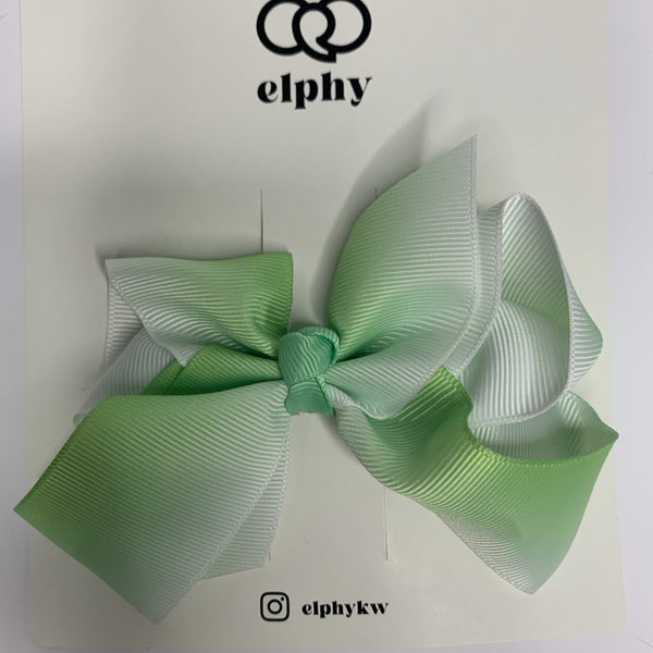 Gradient Green  | Bow