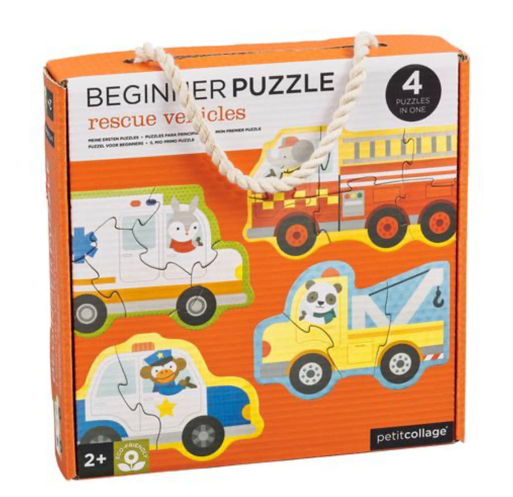 Rescue vehicles Toddler Puzzle