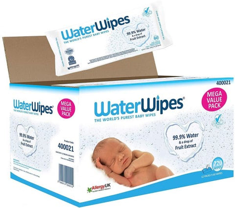 Water wipes - Mega Value Pack