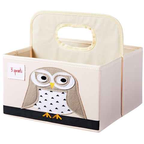 Snowy Owl - Diaper Caddy