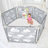 Playview Expandable Enclosure - Grey Clouds