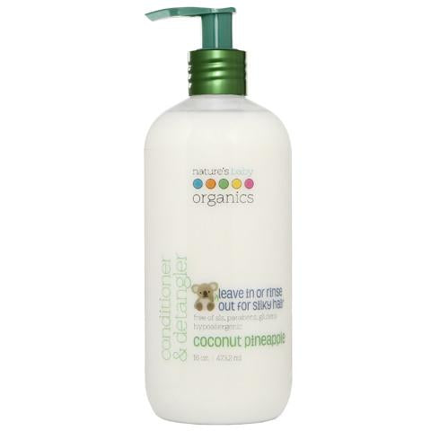 Conditioner & Detangler Coconut Pineapple 16oz