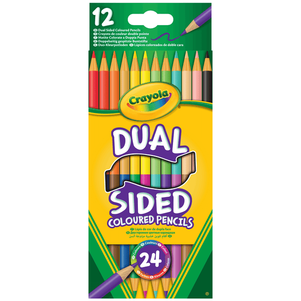Dual Sided Colored Pencils - Set of 24