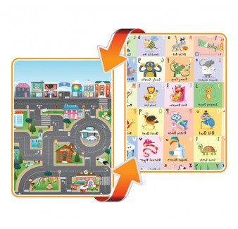 Reversible PlayMAt - City/ABC