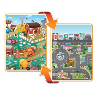 Reversible PlayMAt - City/Farm